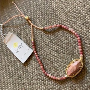 🆕 Kendra Scott Elaina Pink Rhodonite Bracelet